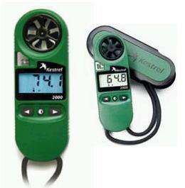 KESTREL(ケストレル)ポケット気象メーター気象計、風速計、温度計、計測器2000
