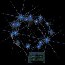 JEFCOM電池式卓上イルミネーション LEDミニストリングライト 青色