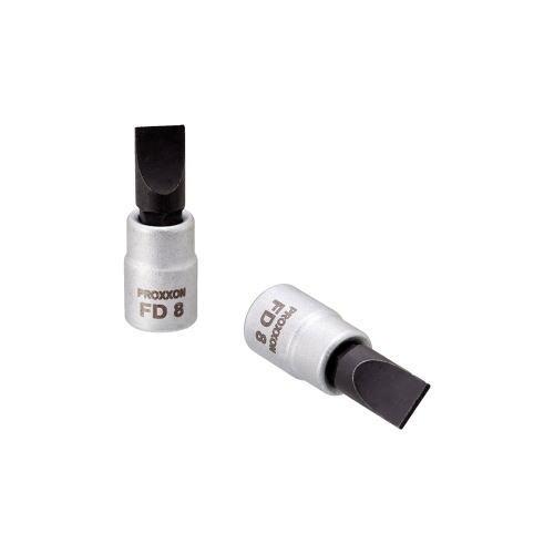 PROXXON(プロクソン)ドライバービットソケット マイナス8.0mm 1/4(6.35mm)