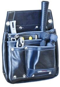 DBLTACT 本革釘袋 325×375×85mm ブラック