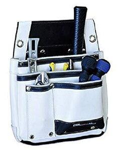 DBLTACT 本革釘袋 325×375×85mm ホワイト