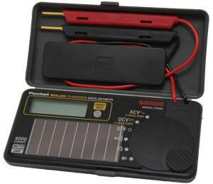 サンワ(SANWA)ソーラー充電ポケット型デジタルマルチメーター PS8A