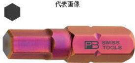 """PB SWISS TOOLS 1/4""""Hex六角ビット 2mmC6-210-2"""