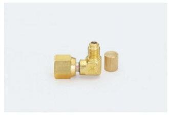 供TASCO(塔克斯科)R410A使用的喇叭形适配器弯头5/16*1/4