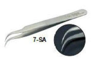 TRUSCO(トラスコ)ステンレス製耐酸耐磁ピンセット 115mm (鷲型極細型)