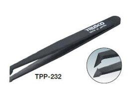 TRUSCO(トラスコ)プラスチック製ピンセット 120mm(先曲型) TPP-232