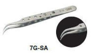 TRUSCO(トラスコ)耐酸耐磁ピンセットスイス トゥィーズ型 115mm(鷲型極細型)