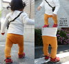 It is excellent at start elasticity! Plain Japanese monkey pants (70cm 80cm 90cm 95cm) of the material that 含 んだようなほわっほわ is light with air abundantly