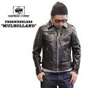 "FREEWHEELERS / フリーホイーラーズSPARTAN LEATHER SPORTSWEAR""MULHOLLAND"" / マルホランド#1931001レ..."