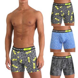 CK拳擊家褲子Calvin Klein CK BOLD MICRO LTE BOXER微纖維CK內衣褲子人男性內衣人內衣