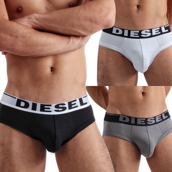 DIESEL ディーゼル ブリーフ ビキニブリーフ ローライズブリーフ メンズ 男性下着 メンズ下着 パンツ 【diesel ディーゼル】