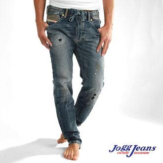 JOGG 牛仔褲慢跑牛仔褲 WAYKEE NE [605 X] [老式加工 (男式牛仔)