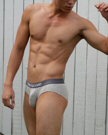 UNDERSTANDローライズブリーフ(グレー:Grey)メンズ男性下着メンズ下着パンツ無地ベーシック