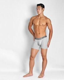 UNDERSTANDアンダースタンドボクサーブリーフ(グレー:Grey)メンズ男性下着メンズ下着パンツ無地ベーシック