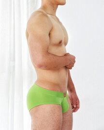 UNDERSTANDアンダースタンドOK-PATCHローライズブリーフ(ルーキー・グリーン:rookiegreen)メンズ男性下着メンズ下着パンツシンプル