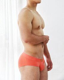 UNDERSTANDアンダースタンドOK-PATCHローライズブリーフ(トラック・オレンジ:trackorange)メンズ男性下着メンズ下着パンツシンプル