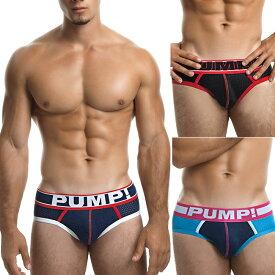 PUMP パンプ ブリーフ ビキニブリーフ ローライズブリーフ MICRO MESH PUMP! Underwear メンズ 男性下着 メンズ下着 パンツ トレーニングウェア スポーツウェア フィットネス 筋トレ