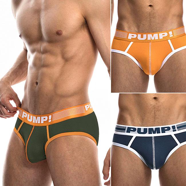 PUMP パンプ ブリーフ ビキニブリーフ ローライズブリーフ MICRO MESH BRIEF マイクロメッシュ PUMP! Underwear メンズ 男性下着 メンズ下着 パンツ