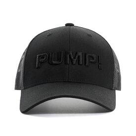 PUMP パンプ メンズ キャップ 帽子 ALL BLACK BALL CAP メッシュバック PUMP! Underwear