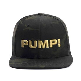 PUMP パンプ メンズ キャップ 帽子 DARK MILITARY 迷彩 CAMO SNAPBACK CAP PUMP! Underwear