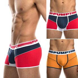 PUMP パンプ ボクサーパンツ ローライズボクサー FREE FIT BOXER PUMP! Underwear メンズ 男性下着 メンズ下着 パンツ トレーニングウェア スポーツウェア フィットネス 筋トレ