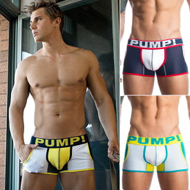 PUMP パンプ ローライズ ボクサーパンツ ローライズボクサー JOGGER BOXER PUMP! Underwear メンズ 男性下着 メンズ下着 パンツ トレーニングウェア スポーツウェア フィットネス 筋トレ