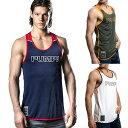 PUMP パンプ タンクトップ MESH TANK TOP メッシュタンク トレーニングウェア トップス PUMP! Underwear メンズ 男性 スポーツウェア フィットネス 筋トレ