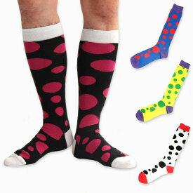 SOCK HOLIC ソックホリック LONG SOCKS バブルコレクター ハイソックス 靴下 レディース メンズ 男女兼用 女性用 男性用 ユニセックス 大きいサイズ 小さいサイズ 水玉 ドット
