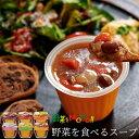 期間限定ポイント10倍【 送料無料 】レンジで1分 野菜を食べる 本格 カップスープ バラエティー 6個セット ★ 無添加 …