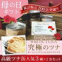 【母の日ギフト】贅沢ツナ缶 3種詰め合わせ6缶ギフトセット【送料無料!】