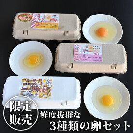 【送料無料】【クーポン利用で30%OFF】3種類の卵セット(フルーツ、もみじ、さくら、各10個入)|卵 たまご タマゴ 鶏卵【TSM】