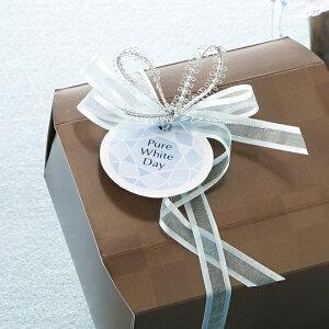 【ネコポスOK】ピュアシリーズ ジュエルを添えて贈るサック式タグ10枚入プレゼント 可愛いい ラッピング♪ホワイトデー クッキー マドレーヌ お返し ギフト 子供 チョコ クッキー 飴 甘くな