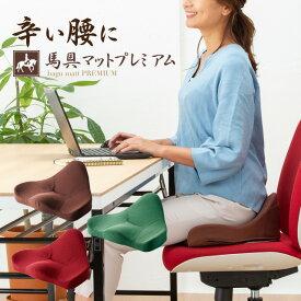 PROIDEA プロイデア 馬具マットプレミアム 椅子 クッション 姿勢 腰痛 クッション オフィス 骨盤矯正 腰痛対策 【送料無料】