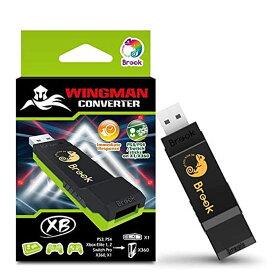 【最大2000円OFFクーポン配布中 マラソン限定6/26まで】 Mcbazel Brook Wingman XB コントローラーコンバーター 転換装置 Xbox One Xbox 360 PCコンソール専用 PS4 PS3 Switch Pro Xbox One Elite Xbox 360 ゲームバッド コントローラー適応 送料無料