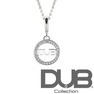 送料無料 DUB ネックレス メンズ レディース ジュエリー 141-1 (WH) ダブジュエリー シルバー キュービックジルコニア アクセサリー ダブコレクション リング 指輪 CanCam キャンキャン Safiri サフ