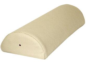 Semicircular pillow L beige