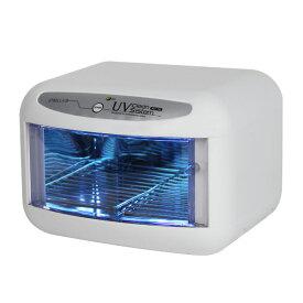 超コンパクト紫外線消毒器 ホワイト オートタイマー付【送料無料】