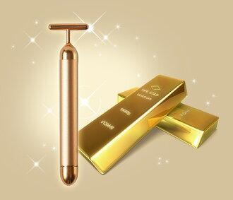 美酒吧 BM-1 日本纯黄金进行面部与 24k 金和 6000 RPM 美振动 emsieviken 定期国内