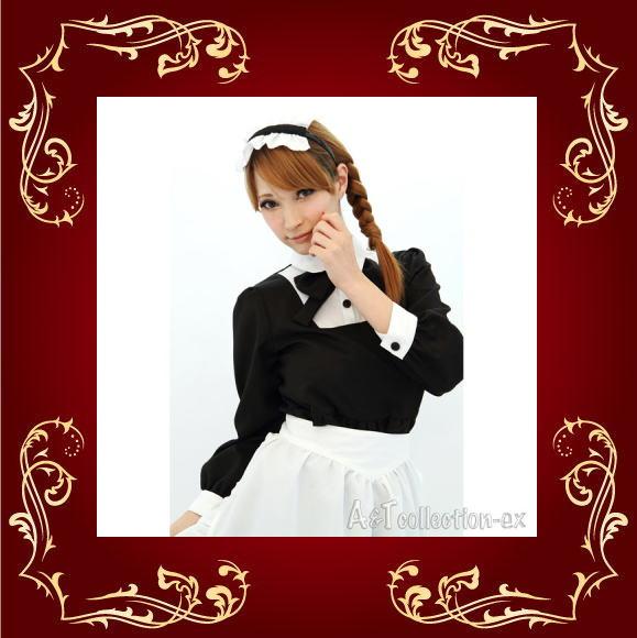アキバ系萌えコスプレ 超定番 メイド服