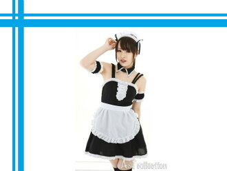 Akiba MoE cosplay hentai cute maid outfit black