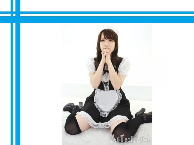 アキバ系萌えコスプレ シンプル 入門用メイドさん