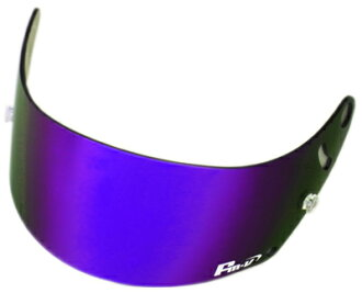 供FMV Plus紫/burusumokuarai 4轮安全帽GP-6 GP-6S SK-6使用的Fm-v镜子盾构