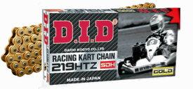 DIDレーシングカート チェーン 219 (G&G) HTZ SDH 96L〜116L