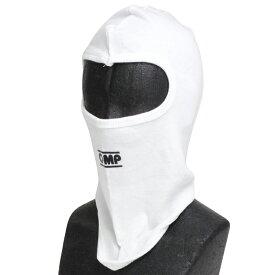 OMP フェイスマスク 1ホール ホワイト コットン レーシングカート・走行会用 (KK03005020)
