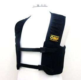 OMP RIB リブプロテクターベスト ブラック レーシングカート用 (KK04001)