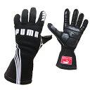 PUMAレーシンググローブ PODIO (ポディオ)ブラック 外縫い シリコンラバー タイプ FIA公認 040839-01