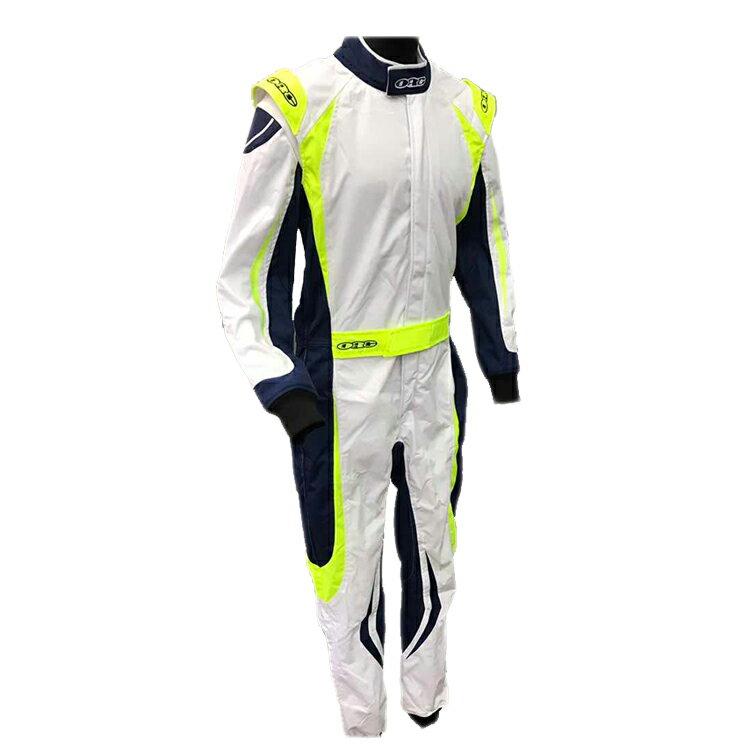 ORG Racing Kart Suit レーシングカートスーツ EIKO I WHITE/YELLOW/NAVY (ホワイト/イエロー/ネイビー) レーシングカート/走行会