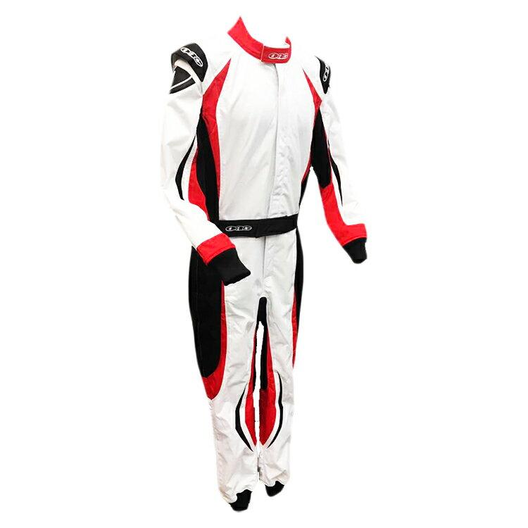 ORG Racing Kart Suit レーシングカートスーツ EIKO I WHITE/RED/BLACK (ホワイト/レッド/ブラック) レーシングカート/走行会