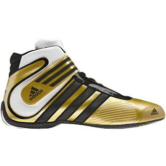 adidas(阿迪达斯)赛车推车鞋KART XLT METALLIC GOLD/BLACK/WHITE