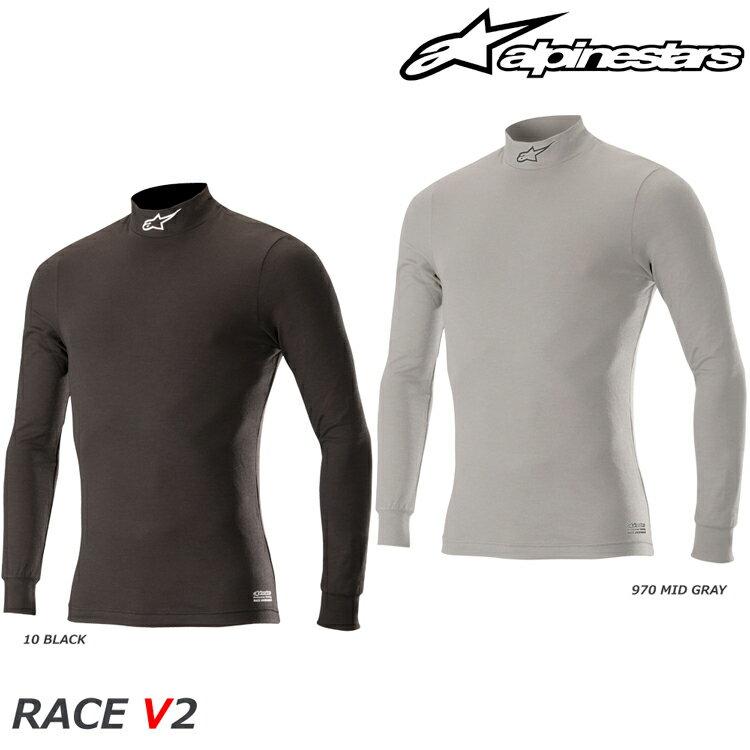 アルパインスターズ RACE V2 TOP トップ アンダーウェア FIA8856-2000公認モデル (4754018)